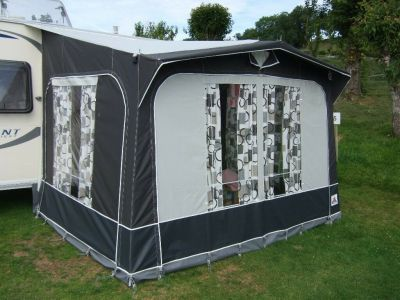 Dorema Safari XL porch awning without an annexe and front panels in place