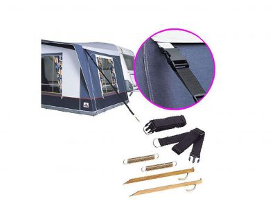 Optional Safe Lock Kit for awning stability