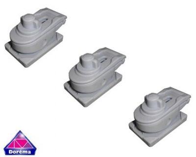 Dorema Quick Lock pads, set of 3
