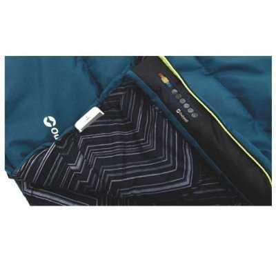 Blue Courtier Sleeping Bag