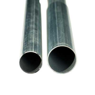Zinox steel on the left, Zinox MegaFrame on the right