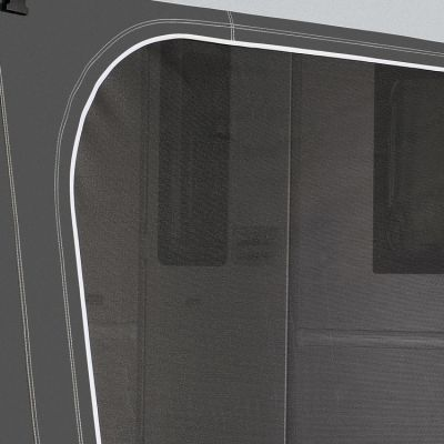 Optional Mesh Front or Side Panel