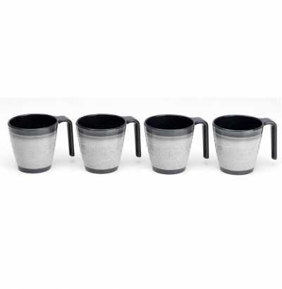 Granite Stacking Mugs (4)