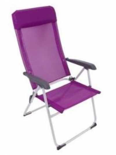 Via Mondo High Back Purple Chair