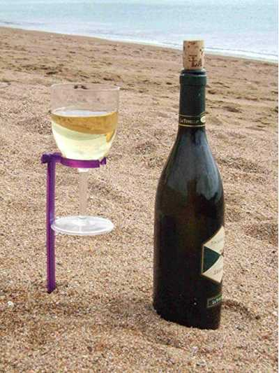AAV Plastics Wine Glass Holder