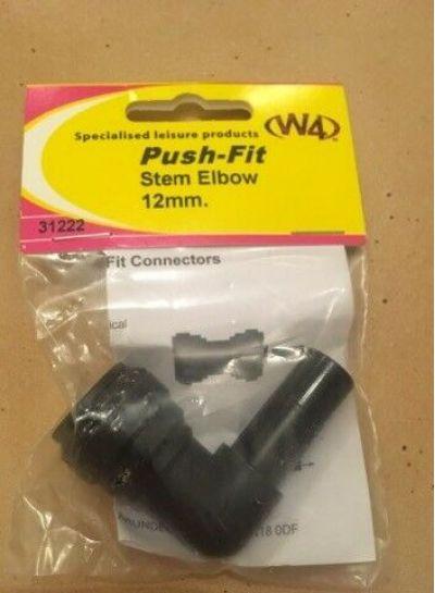 Push-Fit Stem Elbow