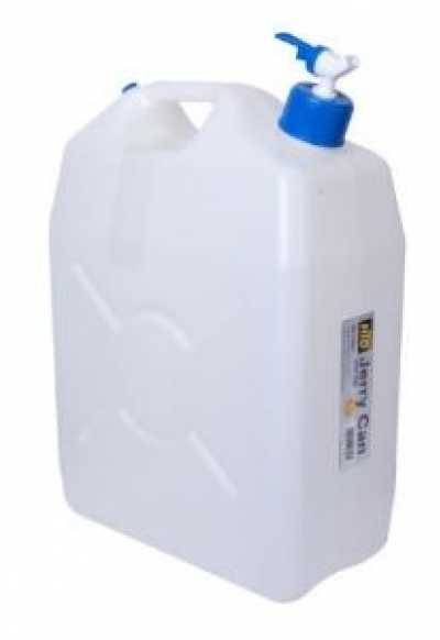 25L Jerry Can Slimline With Tap Water Container