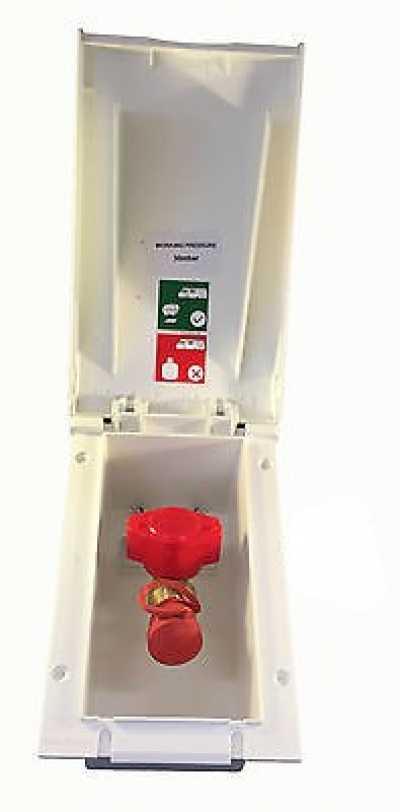 Beige TND Gas Outlet Box